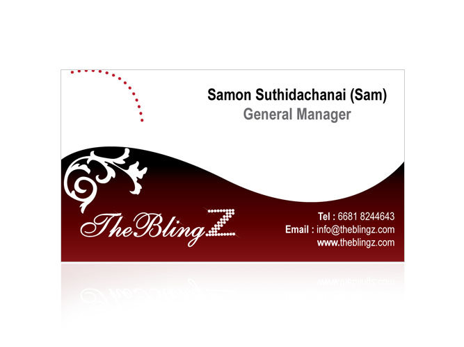 The BlingZ Business card