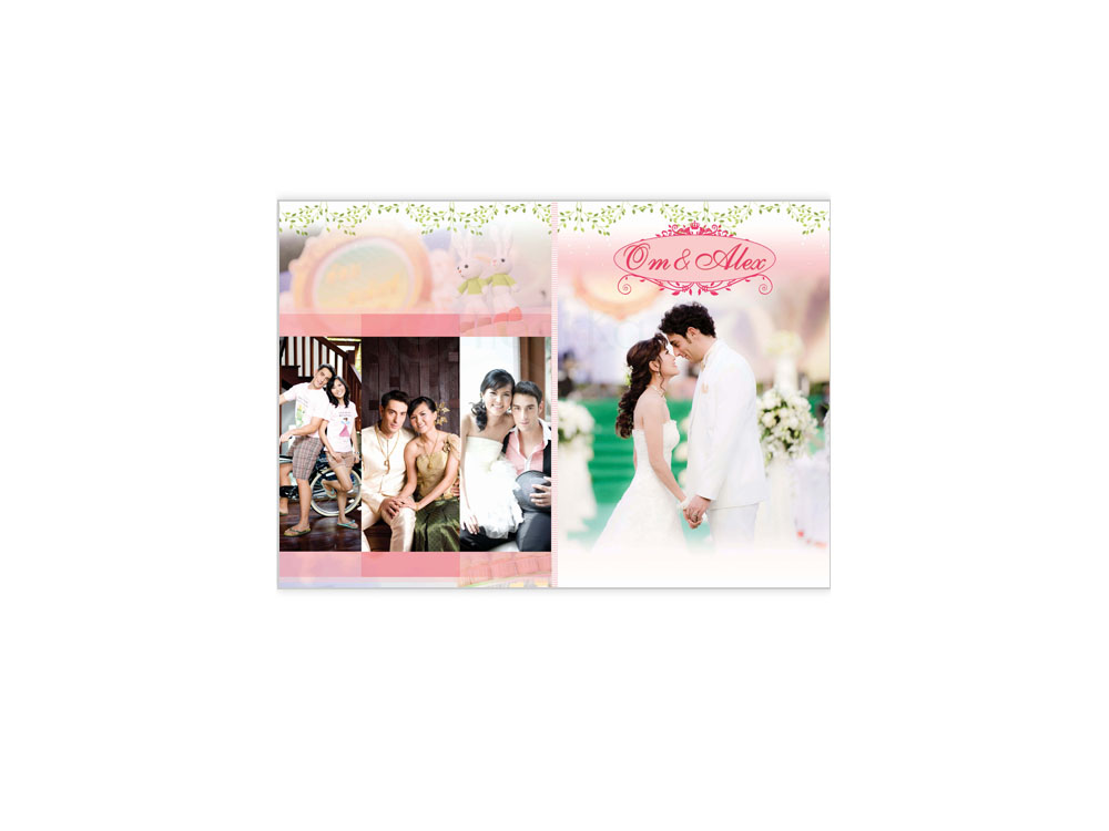 Photobook Om & Alex Wedding