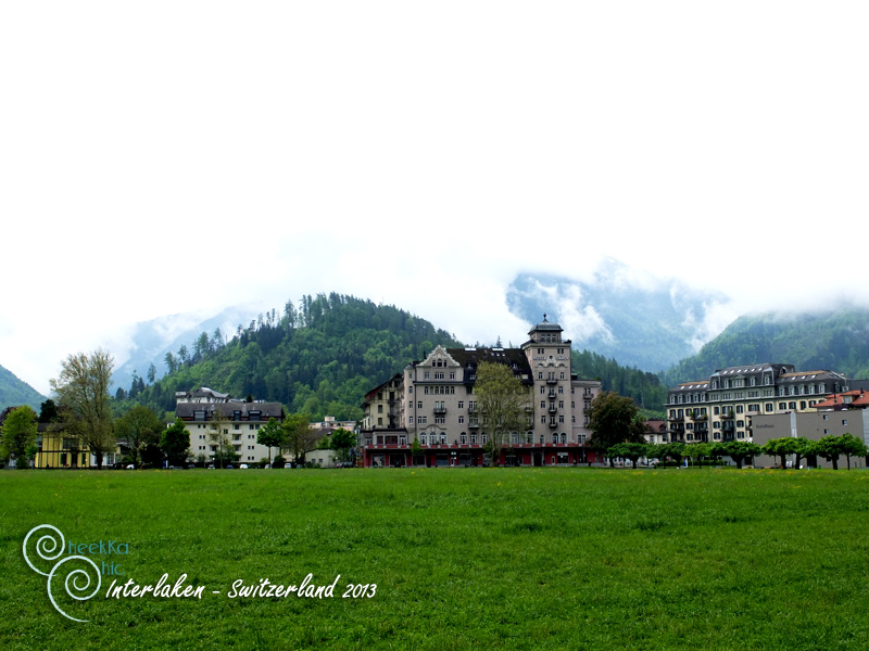 Europe - Trip - Switzerland - Interlaken