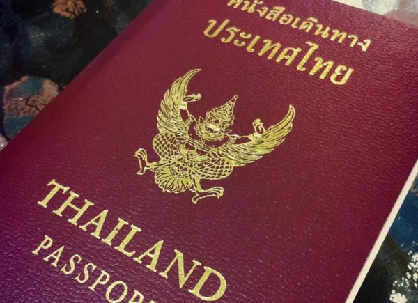 passport thailand