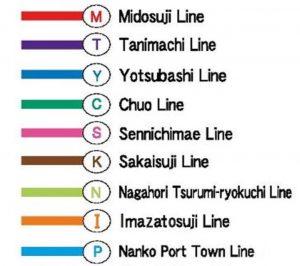 Japan Trip - subway Osaka