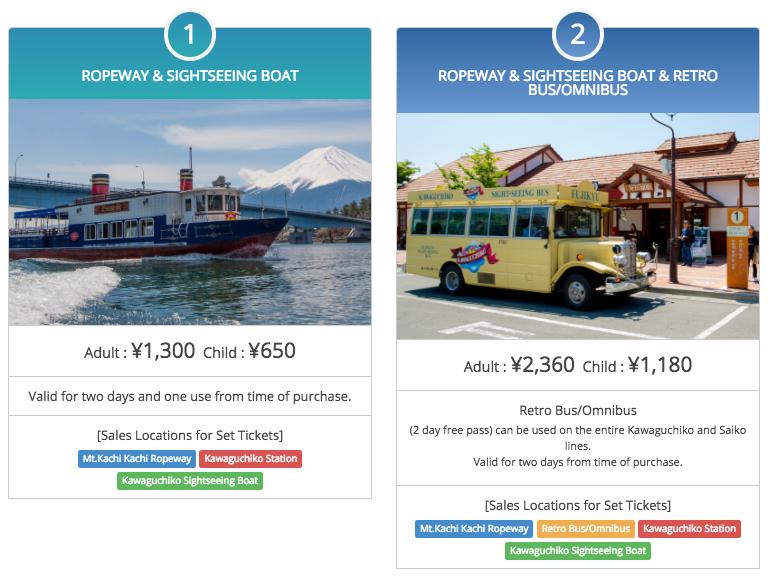 Japan Trip - Ropeway - fare