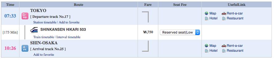 Japan Trip - Tokyo - shin-osaka